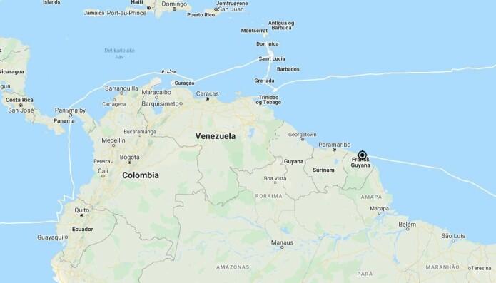 SØR AMERIKA: «S/Y Vilja kommer fra Ilha Fernando de Noronha i Brasil til Fransk Guyana.