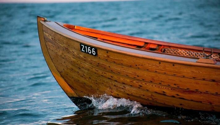 SØRLANDSNEKKENE: Klinkbygde sørlandssnekker kan komme på verdensarvlisten.