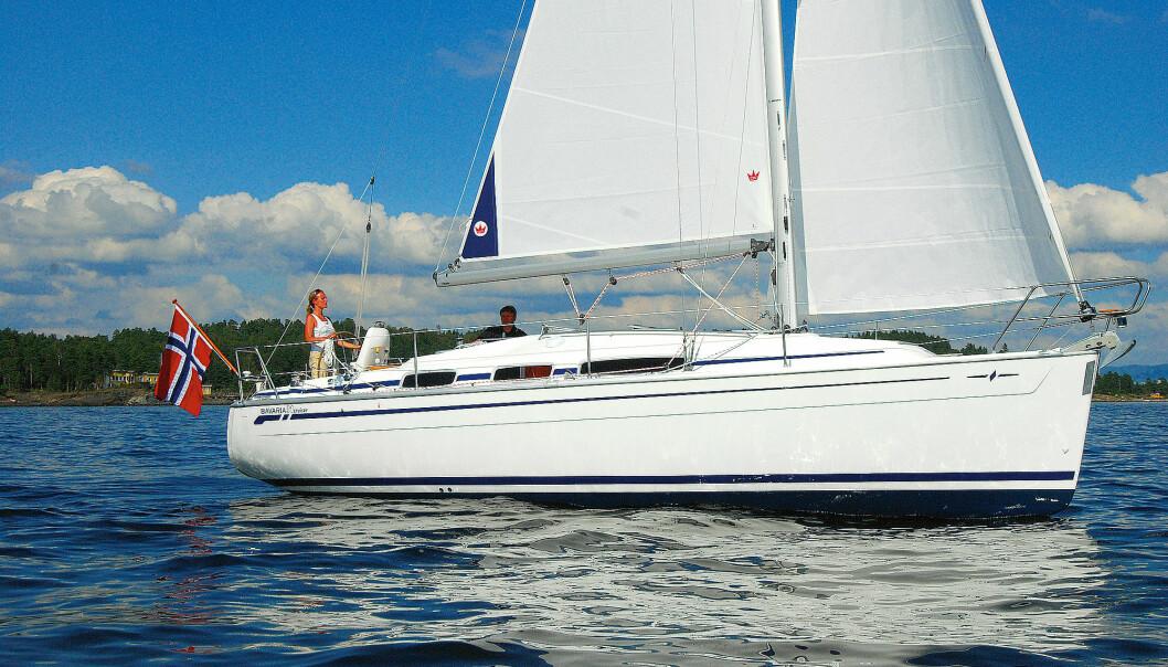 BRUKT: Nå får du en kompakt Bavaria til under 400 000 kroner, en brøkdel av en ny båt.