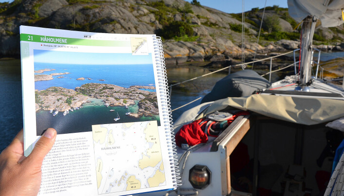 INFORMASJON: Havnebøker gir gode tips om naturhavner, og hva slags forhold de egner seg for.