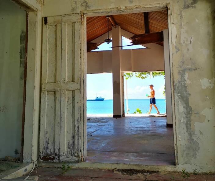 STILLE: Livet i Road Bay på Anguilla.