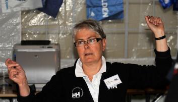 MARIANNE SOLBAKKEN: Mange har stiftet bekjentskap med Marianne i sekretariatet i Skagen.