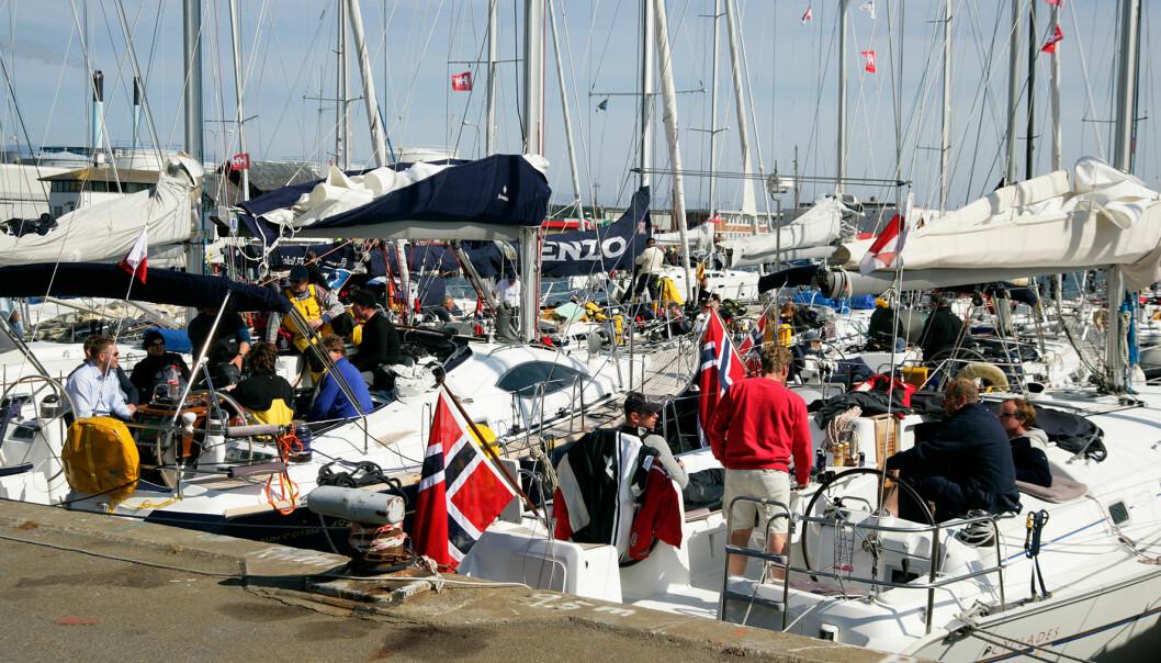 GODSLITNE: Det er alltid godt å komme i havn i Skagen etter et døgns seilas eller så.