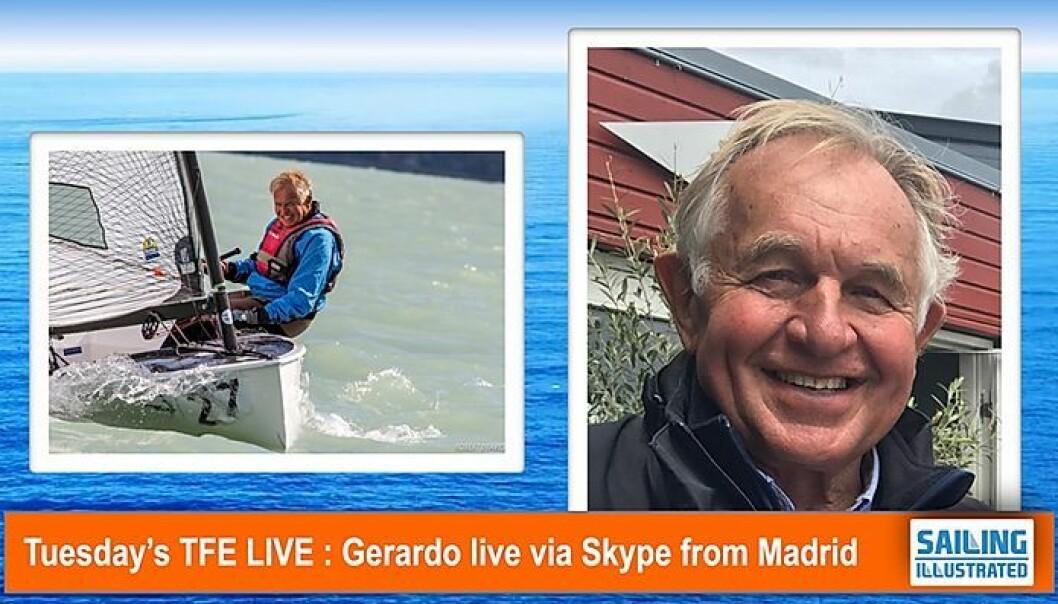 Presidentkandidat: Gerardo Seeliger på direkten idag