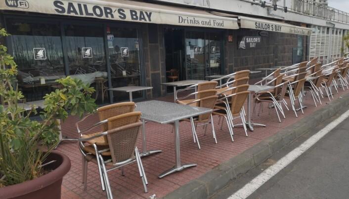 STENGT: Sailor's Bar pleier seilerne å møtes. Nå er stedet stengt.