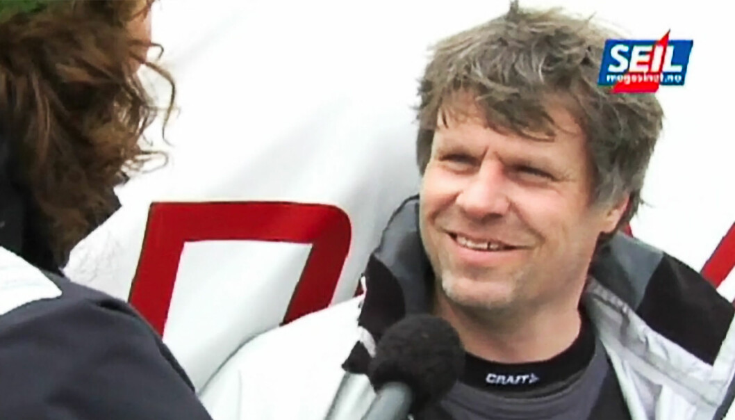 TO NORDMENN: Bengt Falkenberg deltok i sitt første Skagen Race i 2008.