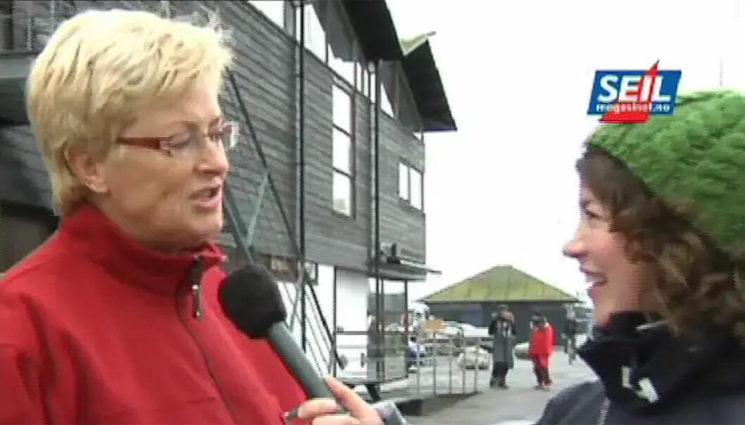 FOLK PÅ GATA: Gunnhild Dahlberg traffolk på gata i Skagen i 2008.
