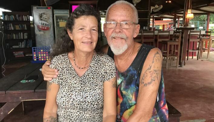 HJELP: Nettie og Gelle Djikstra, våre gode hjelpere på land i Suriname. Om du skulle møte dette paret på din ferd i fremmed farvann, så er du i trygge hender.