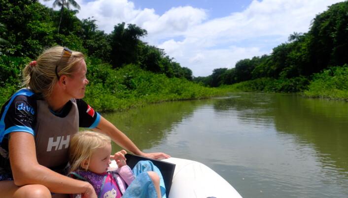 Oppdagelsesferd opp en sideelv til Surinameelva.