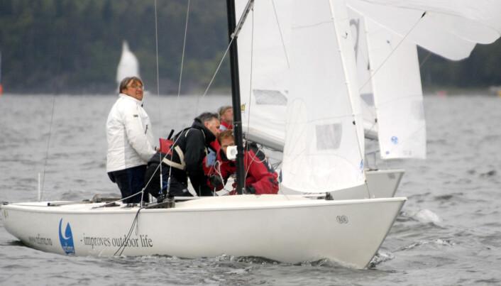 SKARPSEILER: Soling er en båt som gir seilglede.