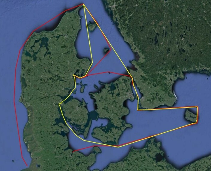 BANE: To ruter som seiles annetvert år. Inshore på ca. 650 nm og offshore på hele 890 nm.