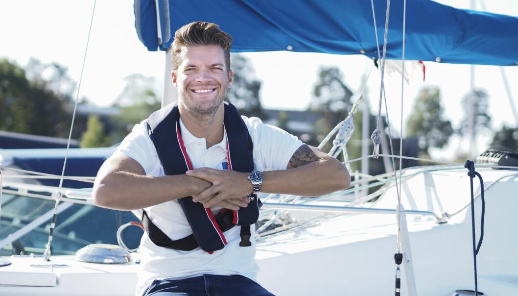 SER AT FLERE VIL KJØPE BÅT: Magnus Frøshaug Ryhjell som forretningsutvikler på Finn motor.