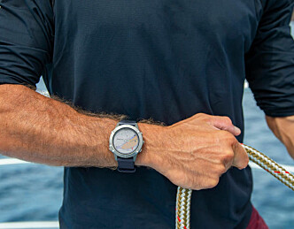 Sjøkart på klokka