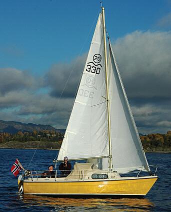 SEIL: Masten står langt fremme. En rullegenua er motoren for vindenergi.