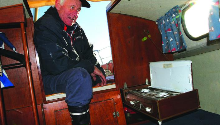 PENSJONIST: Henrich Nissen-Lie kjøpte Marieholm for å seile med venner og barnebarn.
