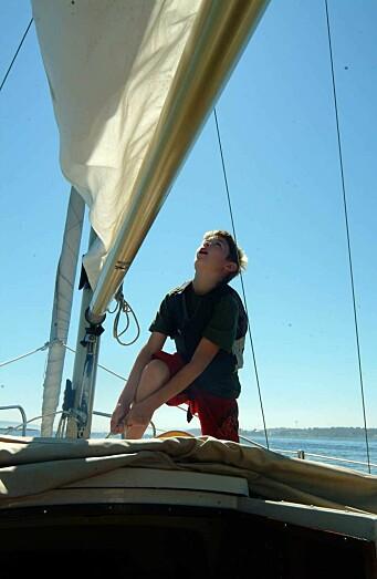 JUNIOR: Båten er enkel å seile, og er ypperlig for unge som vil lære å seile.