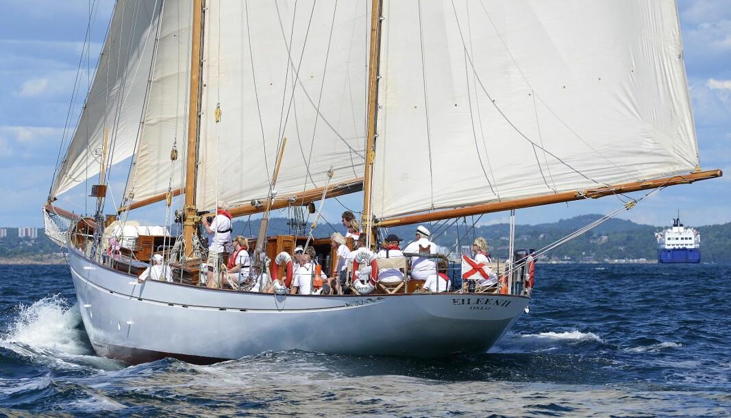 SOLGT: Familien Storm har solgt «Eileen II».