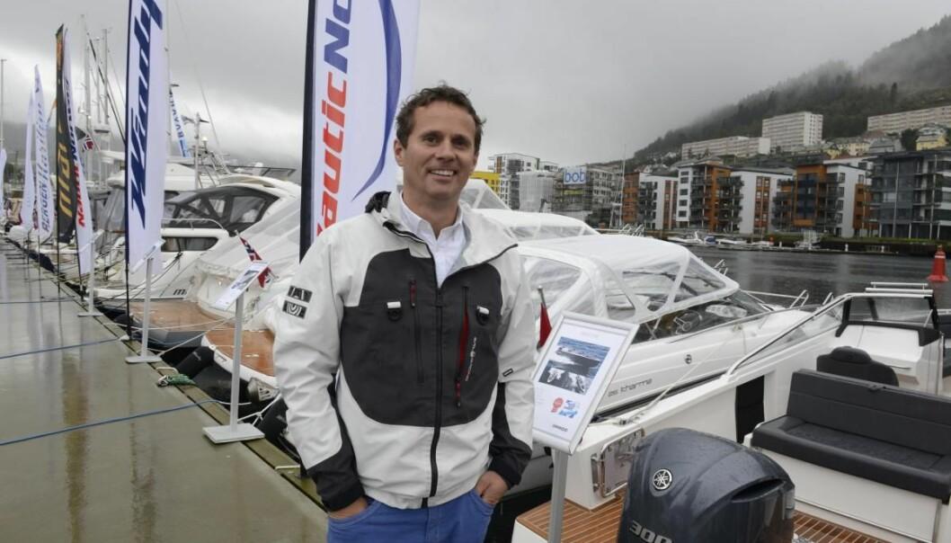 IMPORTØR: Ørjan Wollertsen og Nautic Norway er ny importør av Beneteau seilbåter