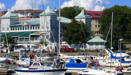 Grensepassering fra Sverige med båt