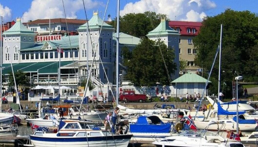 Strømstad er et populært reisemål for norske båtturister