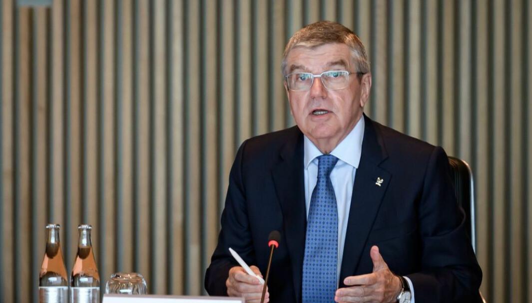 IOC sjef Thomas Bach lover støtte til særforbund.