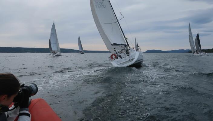REGATTA: Familieklassen i Oslofjorden Rundt ble en suksess.