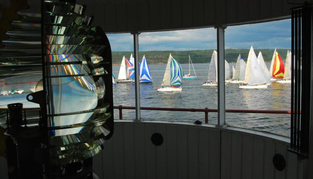 FILTVET: Fyret på Filtvet blir startpunkt for treningsregattaen arrangert av Shorthanded Sailing Norway.