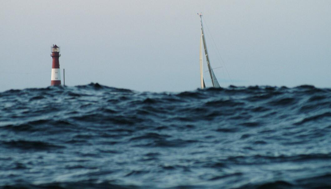 RUNDING: Båtene skal rundt Tristein og Færder, om vinden holder.