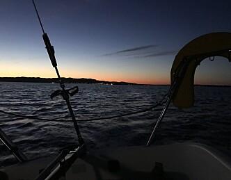 Aldri seilt regatta, og vant