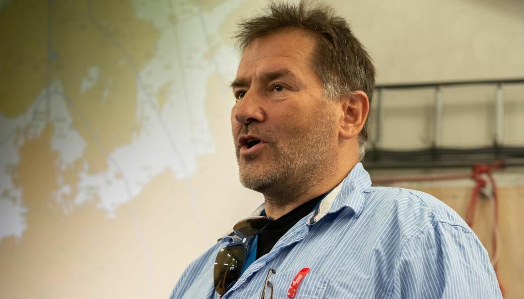 SVERRE VALEUR: I 2014 var Sverre Valeur regattasjef for Askøy Shorthanded.