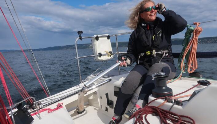 SOLO: Eira Naustvik frykter hun ikke vil rekke målgang under årets Hollenderseilas.