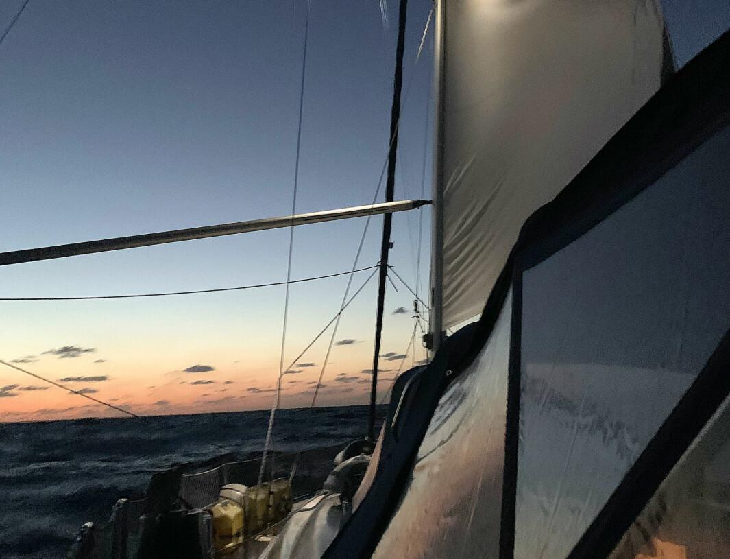NORDOVER: «S/Y Vilja» har valgt å seile hjem via USA på sin jordomseiling.