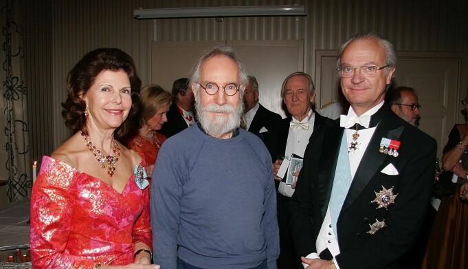 Sven Yrvind holdt foredrag for kongefamilien og deres venner.