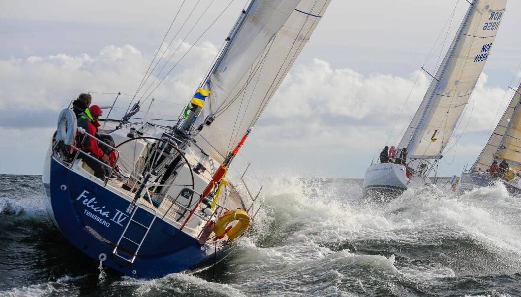 SHORTHANDED ANNO 2009: Starten er gått i Watski Skagerrak TwoStar i 2009, og like mange og like intenst kan det bli i årets Færderseilas der shorthanded-seilerne er i overvekt.