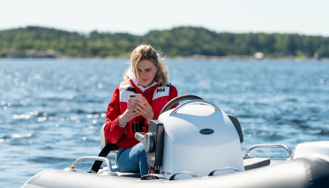 NORSKUTVIKLET: Seaber-appen skal gjøre det mulig å be andre brukere av appen om hjelp