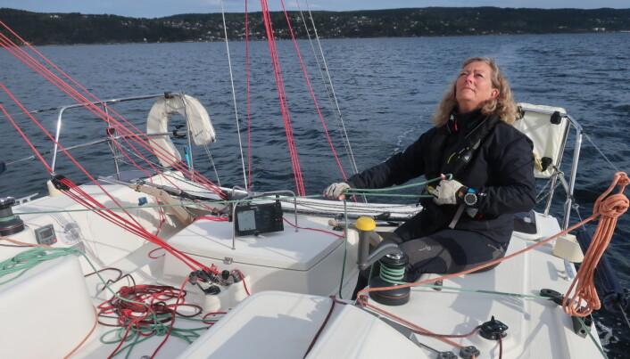 BYTTER: Eira Naustvik bytter fra singlehanded-klassen til doubelhanden-klassen fordi hun mangler sikkerhetskurs.