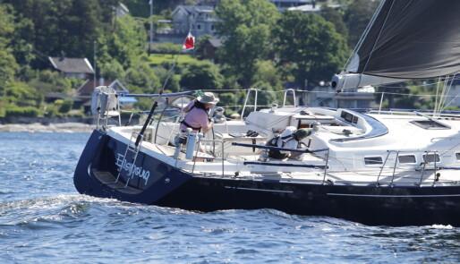 Første båt i mål