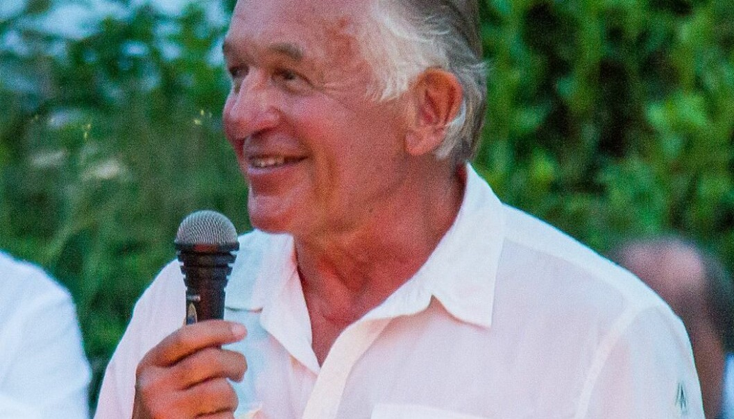 Presidentkandidat Gerardo Sdeeliger
