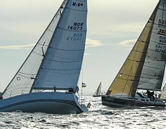 Asker-seilerne på topp som lag