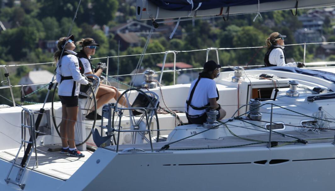 Ragna Agerup var skipper på familiebåten