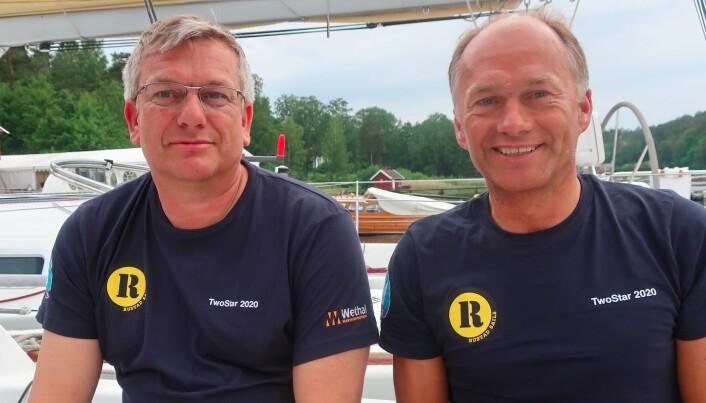 RASKEST: Øyvind og Morten Knudsen i First 34.7 «Lethe» tok en suveren seier i årets TwoStar.