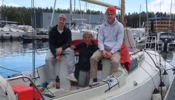 Brukt båt for ungdommen