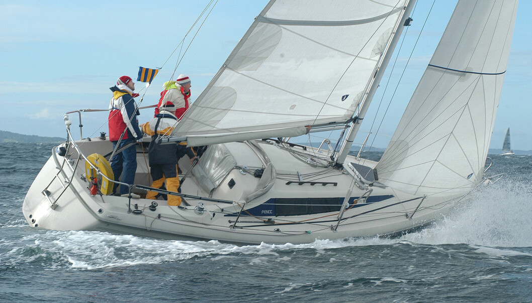 BRUKT: Fenix er en velseilende og trygg båt som var svært moderne på 80-tallet.