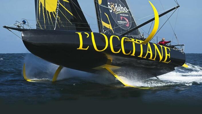 RIGG: «L'Occitane» sliter med en lås for J3-fallet som ikke vil sitte. .