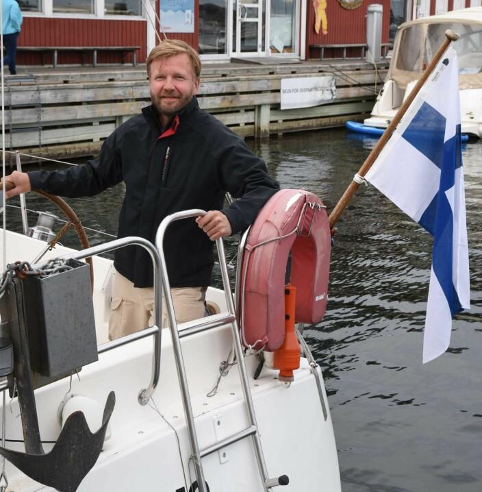 GJEST: Finske Kimmo Viljamaa unngikk karantene.