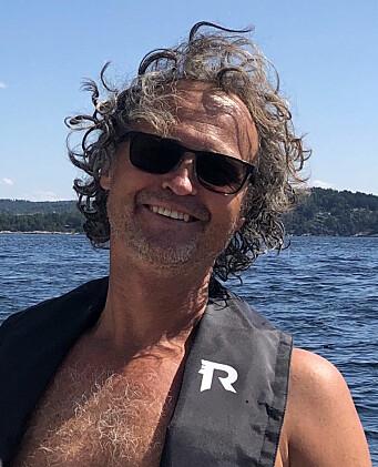 BYTTET: Arve Vaale-Hallberg byttet båt i løpet av få dager i et brennhett bruktmarked.