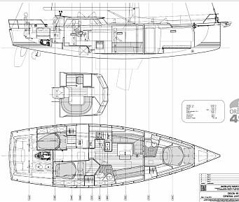 PLANLØSNING: Dekkshus og dyp cockpit er oppskriften.
