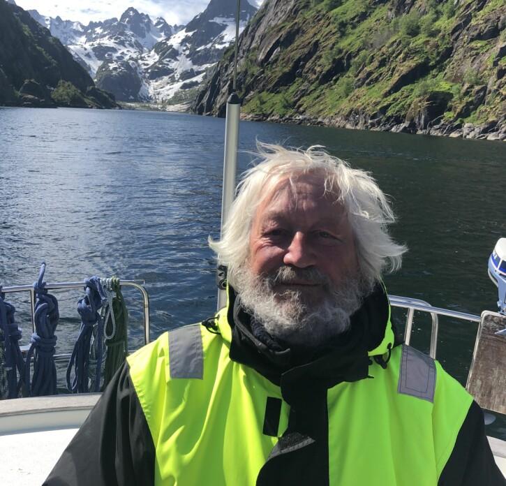 Ragnar Kvam i Raftsundet