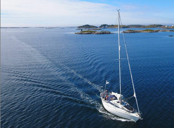 «TESSIE»: – Jeg vil aldri bytte båt. Jeg vil ikke en gang tenke tanken. «Tessie» er perfekt for meg, sier Erik Aanderaa.