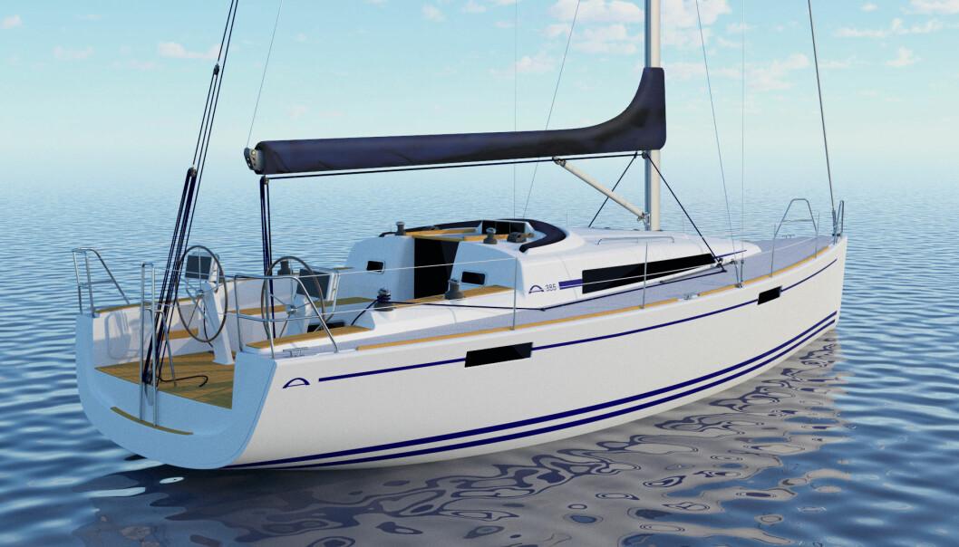 MODERNISERT: Arcona oppgraderer sin populære 38-foter.